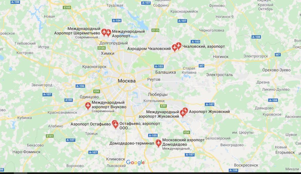 Карта узаконенных самостроев