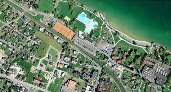 Оцифрованный снимок местности